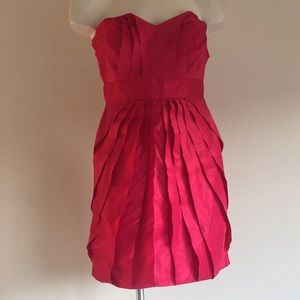 Bcbg strapless dress size 4